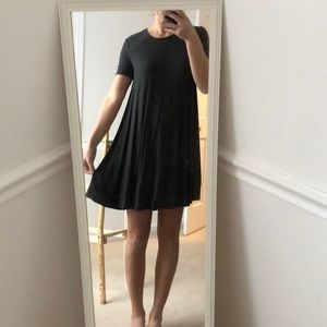 Abercrombie & Fitch Gray Swing Dress - S